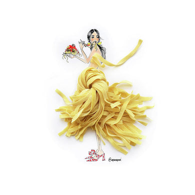 Pasta Princess - Art Print