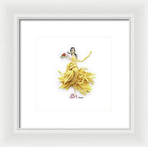 Pasta Princess - Framed Print