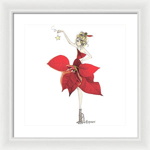 Poinsettia - Framed Print