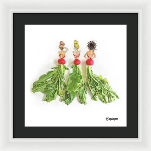 Radishing Ladies - Framed Print