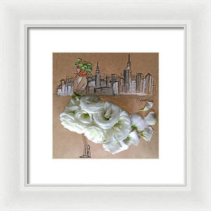 Red Hot City - Framed Print