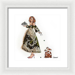Seaweed Rice - Framed Print