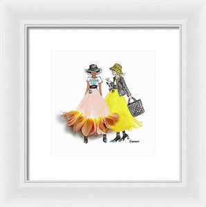 Sisterhood Is Global - Framed Print