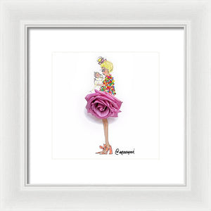 Sprinkle Mama Blonde - Framed Print