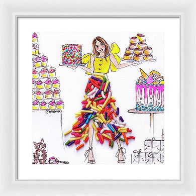 Sprinkles Baking - Framed Print