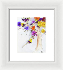 Swing The Day Away  - Framed Print