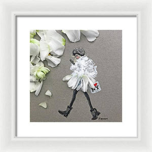 Vortex Girl - Framed Print