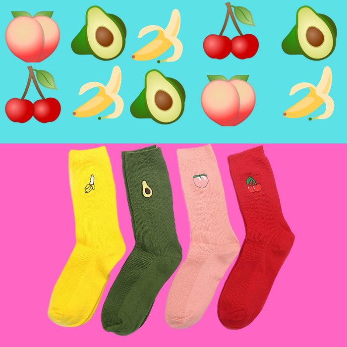 CHAUSSETTES PACK FRUITY (x4)
