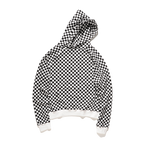 SWEAT  À CAPUCHE DAMIER