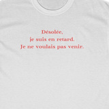 T-SHIRT DSL DU RETARD