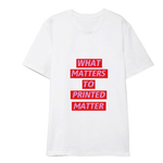 T-SHIRT GIRLSBAND MATTER