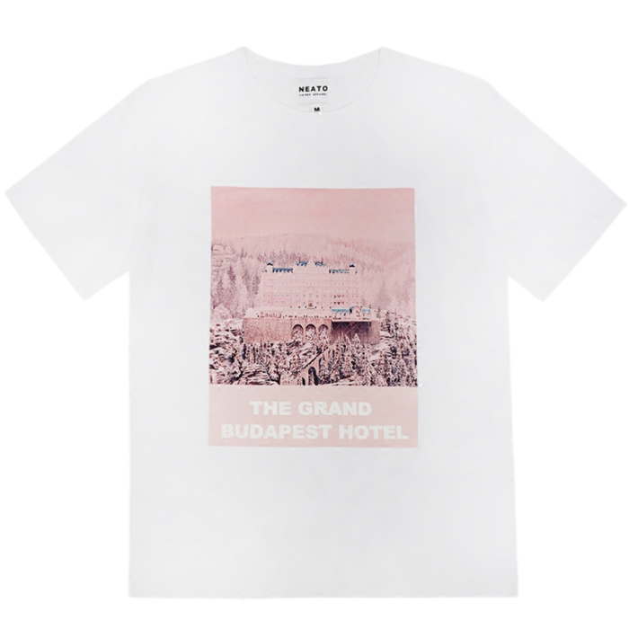 T-SHIRT LE GRAND BUDAPEST