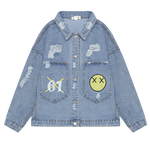 VESTE DENIM SMILE