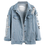 VESTE DENIM WHERE IS MY MIND?