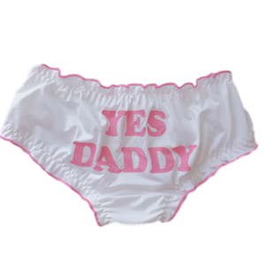 CULOTTE YES DADDY (SOIE DE LAIT)