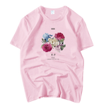 T-SHIRT BOYSBAND - FLOWER ROAD (7 COULEURS)