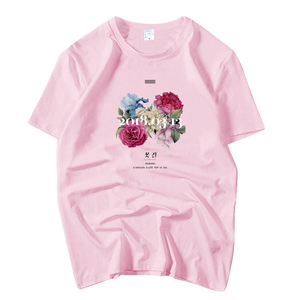T-SHIRT BIGBANG - FLOWER ROAD (7 COULEURS)