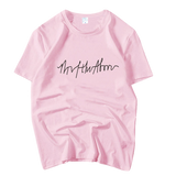 T-SHIRT GIRLSBAND PINKY (4 COULEURS)
