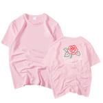 T-SHIRT GIRLSBAND FLOWER PASSION (4 COULEURS)