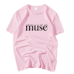 T-SHIRT GIRLSBAND MUSE (5 COULEURS)