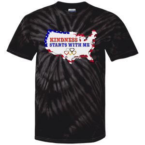 Adult Tie Dye T-Shirt - USA Kindness 2