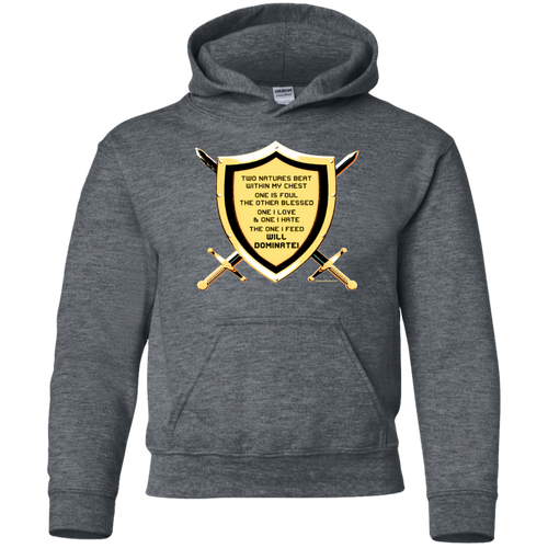 Youth Pullover Hoodie - TwoNaturesShield