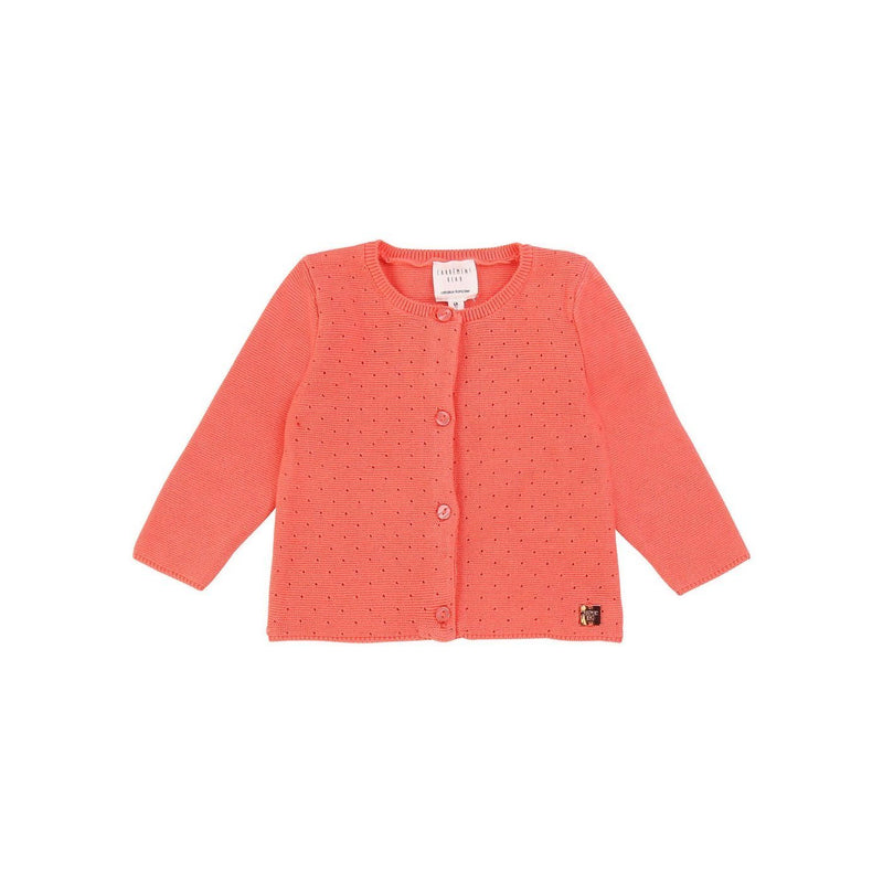 Cardigan Tricot - Rose Candy - Bebe Couche Fille Bebe Couche Fille Billie Blush & Carrément Beau