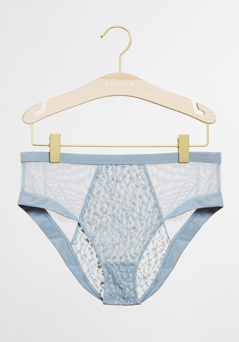 Culotte Karlie Bleu - Culotte - Icone Lingerie - The Bradery