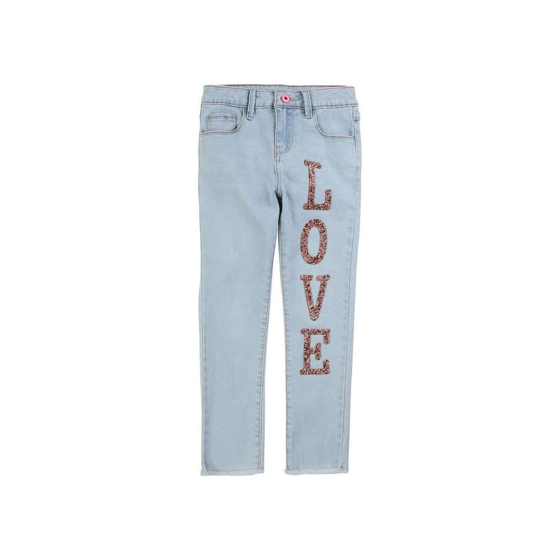 Pantalon Denim - Denim Light - Enfant Fille Enfant Fille Billie Blush & Carrément Beau