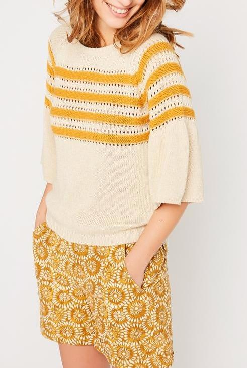 Pull Raye Colleen - Ocre Gilets & Pulls Stella Forest