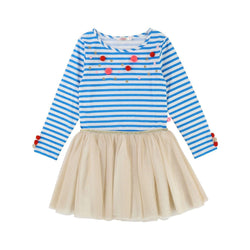 Robe - Medium Blue - Enfant Fille Enfant Fille Billie Blush & Carrément Beau