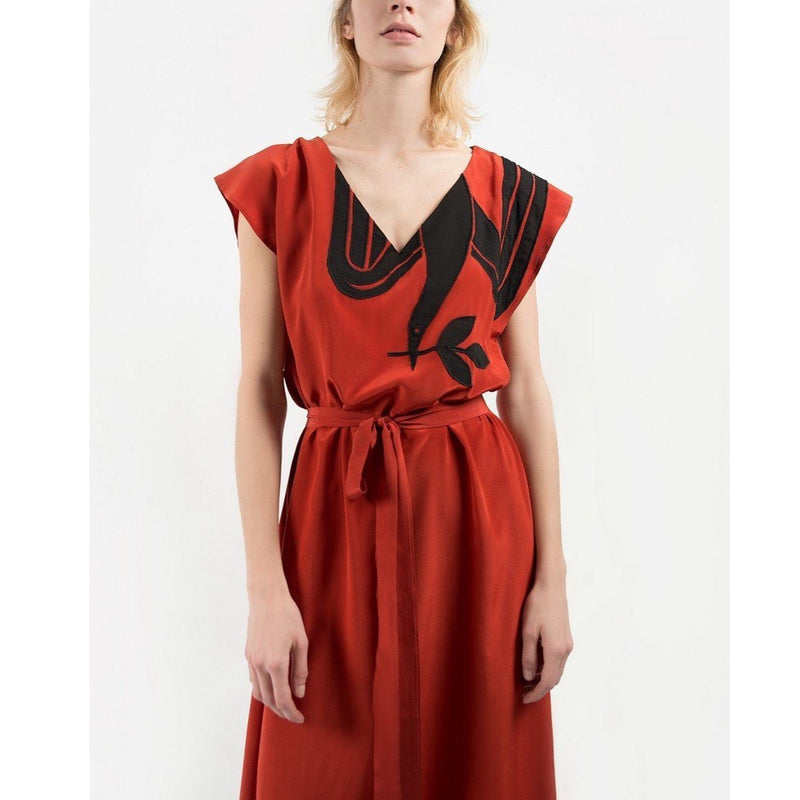 Robe Tracy Rosewood Paloma - Robes - Valentine Gauthier - The Bradery