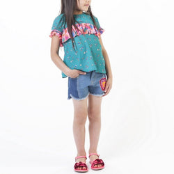 Short Denim - Unique - Enfant Fille Enfant Fille Billie Blush & Carrément Beau
