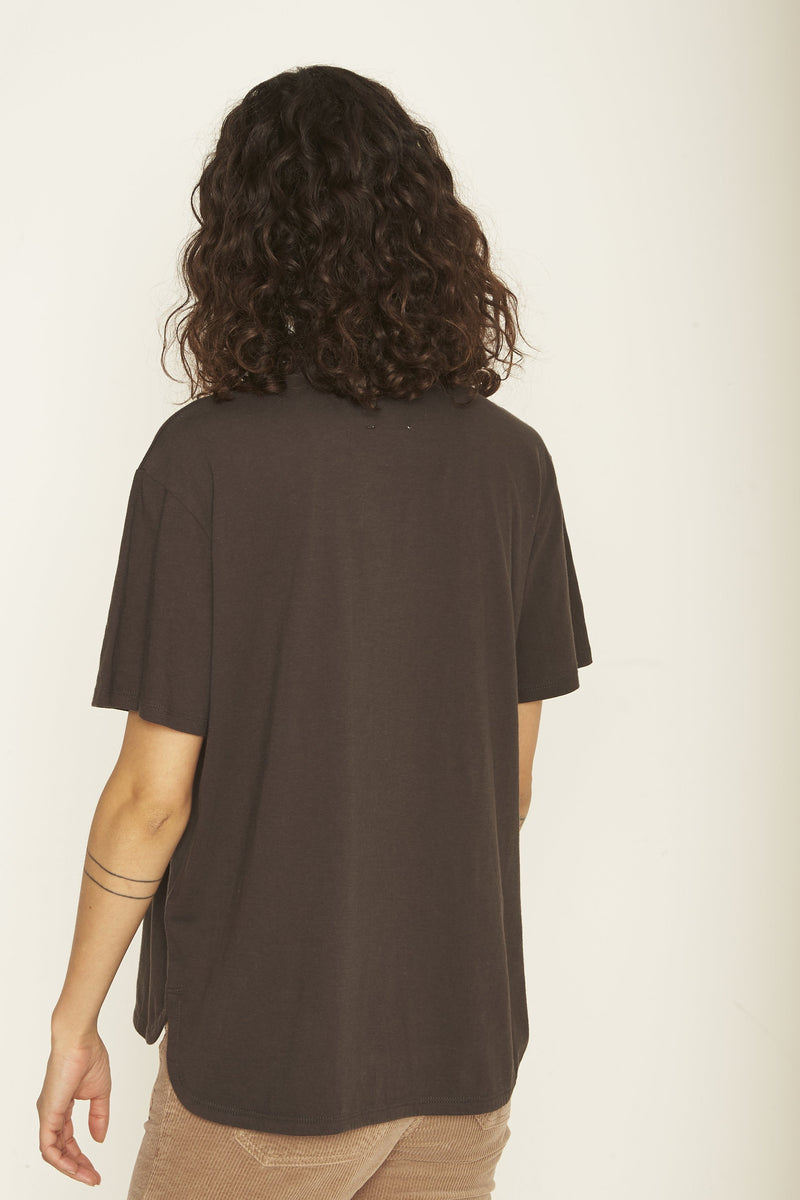 T-Shirt Manches Courtes Austina Noir - Chemises Et Tops - Swildens - The Bradery