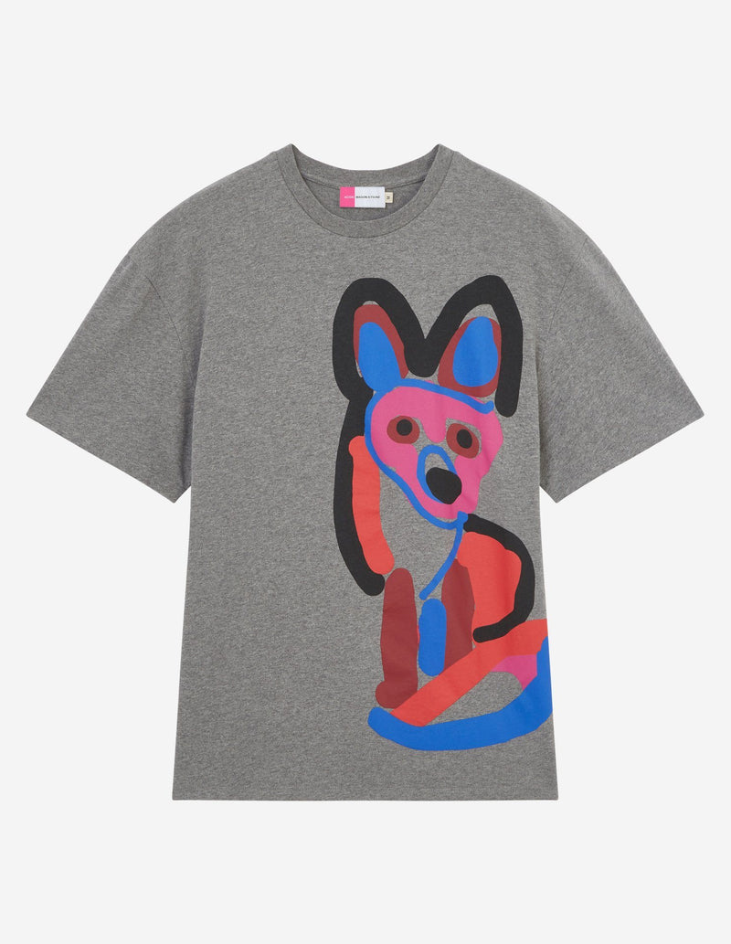 Tee-Shirt Acide Fox Print - Mixte Chemises Et Tops Maison Kitsuné
