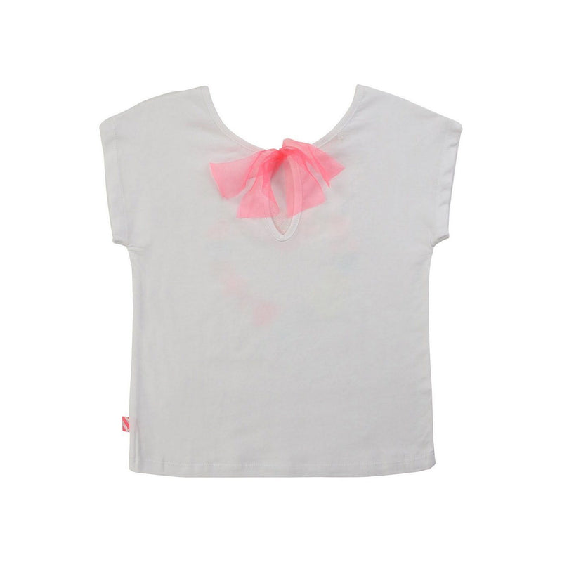 Tee-Shirt - Blanc - Enfant Fille Enfant Fille Billie Blush & Carrément Beau