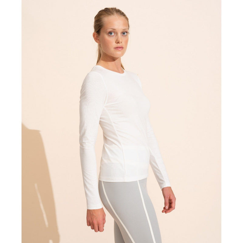 Top Cecile Long Sleeves White Top Ernest Leoty