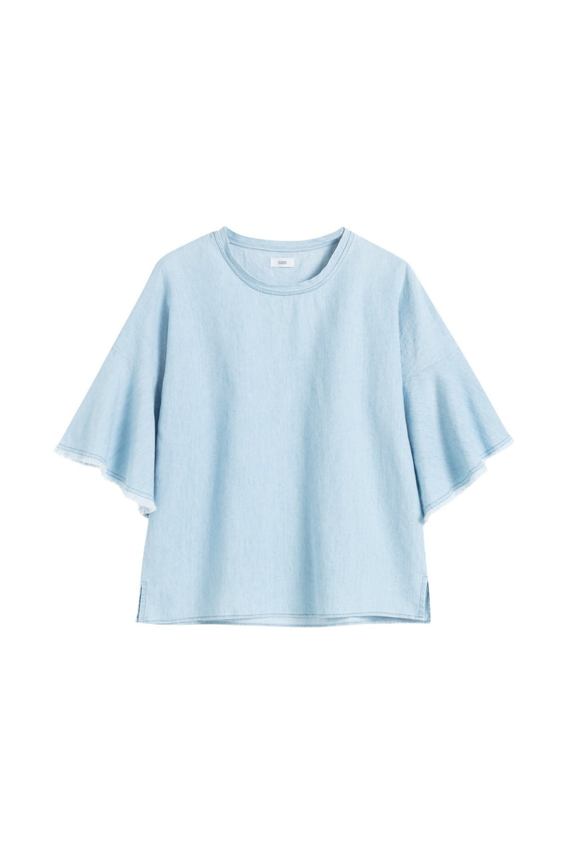 Top Norelle - Light Blue - Femme Chemises & Tops Closed