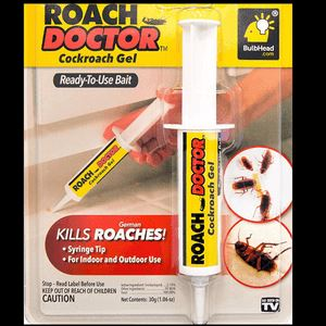 Cockroach Killer Gel with Syringe Applicator Home & Kitchen Souqdealz