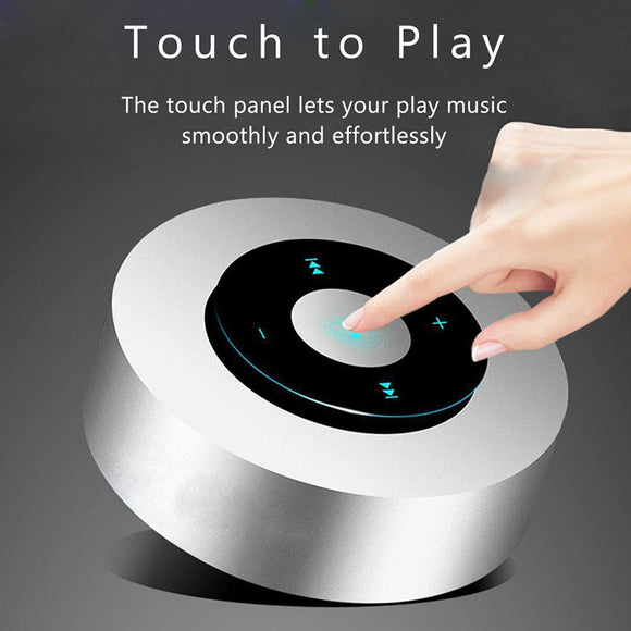 Smart Mini Wireless Bluetooth Speaker With Touch Screen