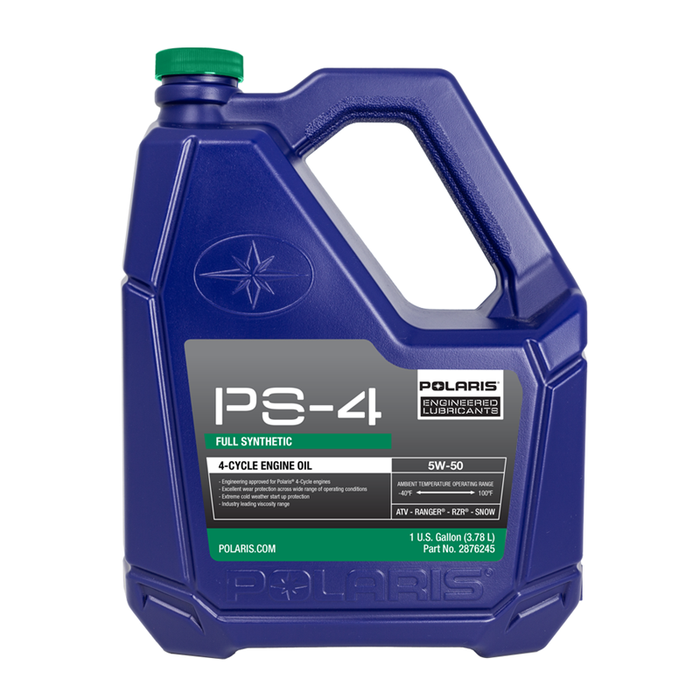 Polaris PS-4 Full Synthetic 5W-50 Allseason Engine Oil