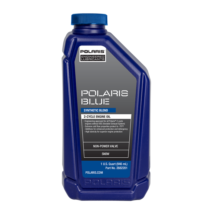Polaris Blue Synthetic Blend 2-Cycle Oil