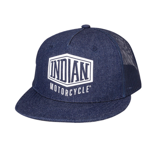 High Profile Denim Trucker Hat