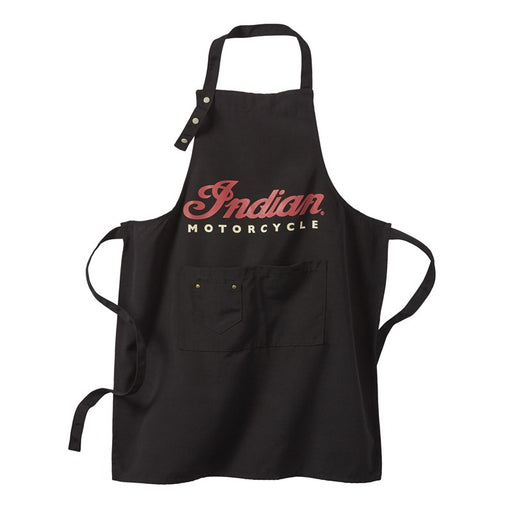Indian Motorcycle BBQ Apron, Black