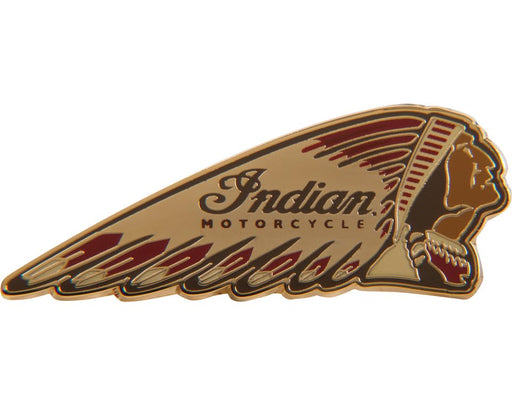 Indian Motorcycle Colored Headdress Pin