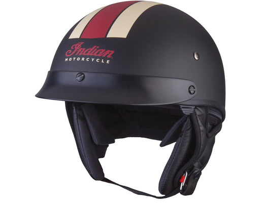 Half Helmet - Black/Red/White 2019