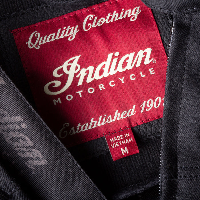 Indian Motorcycle Denim Atlanta Riding Jacket