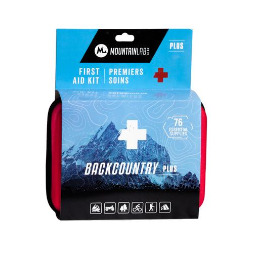 Backcountry First Aid Kit Plus