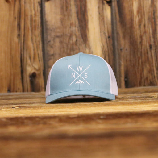 NWS Arrow Blue Curved Hat