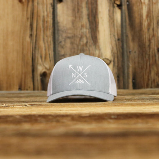 NWS Arrow Grey Curved Hat